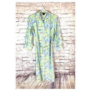 The Limited Pastel Blue Silk Dress Size 4